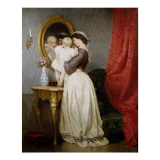 Reflections of Maternal Love Print