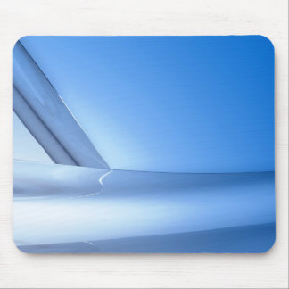 reflections of metal on metal mouse pad