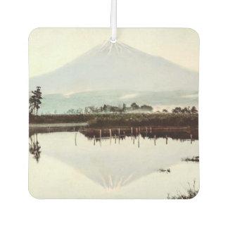 Reflections of Mt. Fuji in Old Japan Vintage Lake Air Freshener