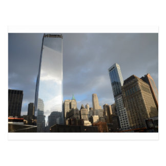 Reflections of New York Postcard