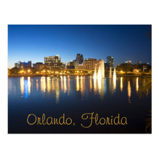 Reflections of Orlando, Florida from Lake Lucerne Post Cards