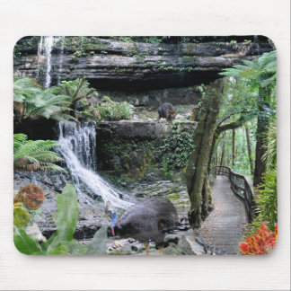 REFLECTIONS OF OZ Australian Rainforest Mouse Pad