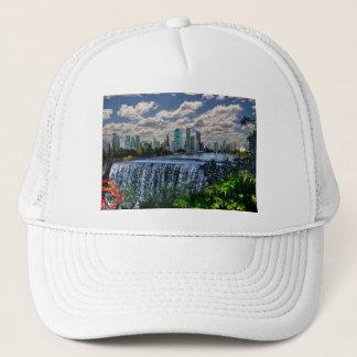 REFLECTIONS OF OZ  Brisbane River Waterfalls Trucker Hat