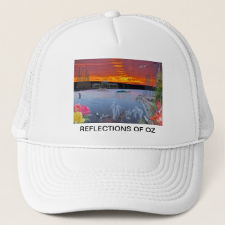 REFLECTIONS OF OZ Brisbane To Adelaide Trucker Hat