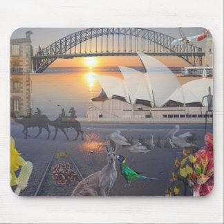 REfLECTIONS OF OZ  Sydney  Port Arthur Mouse Pad