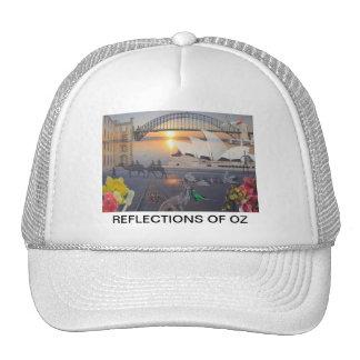 REfLECTIONS OF OZ  Sydney to Port Arthur Trucker Hat