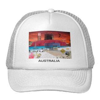 REFLECTIONS OF OZ    Uluru Ayers Rock Hats