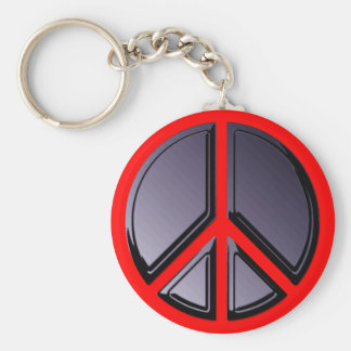 Reflections of Peace Keychain