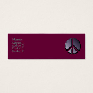 Reflections of Peace Profile Card