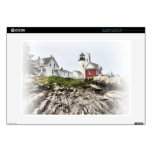"Reflections of Pemaquid 15"" Laptop Decal"