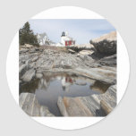 Reflections Of Pemaquid 1 Classic Round Sticker