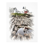 Reflections of Pemaquid Letterhead Design