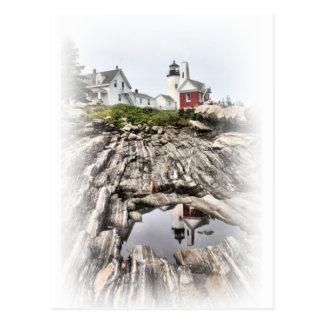 Reflections of Pemaquid Postcard