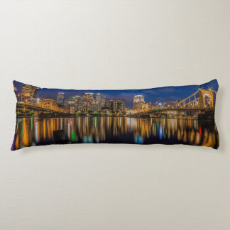Reflections of Pittsburgh Body Pillow
