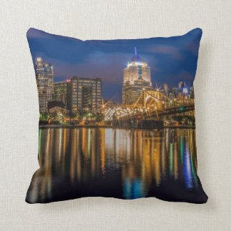 Reflections of Pittsburgh Throw Pillows