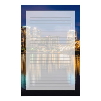 Reflections of Pittsburgh Stationery Design