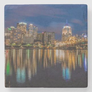 Reflections of Pittsburgh Stone Coaster