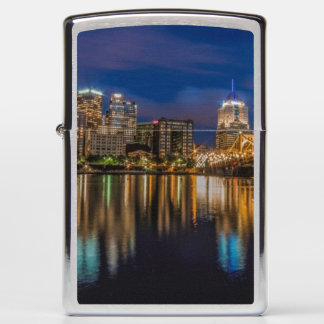 Reflections of Pittsburgh Zippo Lighter