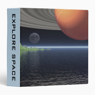 Reflections of Saturn 3 Ring Binder