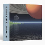Reflections of Saturn 3 Ring Binders