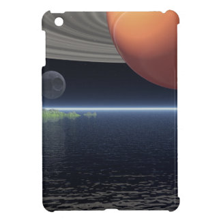 Reflections of Saturn Case For The iPad Mini