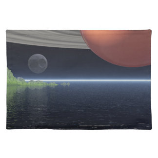 Reflections of Saturn Cloth Placemat