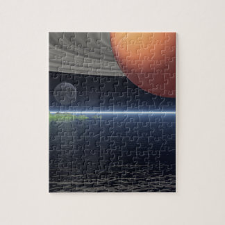 Reflections of Saturn Jigsaw Puzzle
