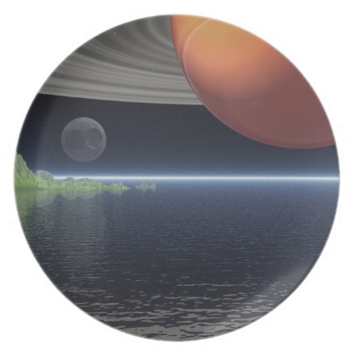 Reflections of Saturn Plates