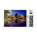 Reflections of Sedona, Arizona Postage Stamp