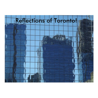 Reflections of Toronto! Postcard