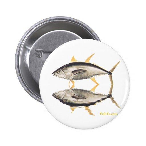 Reflections of Tuna Pinback Button