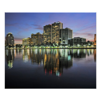 Reflections of West Palm Beach Florida Posters