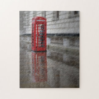 Reflections on a Red Phone Box - London Puzzle
