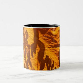 Reflections on an Orange Wall Mug