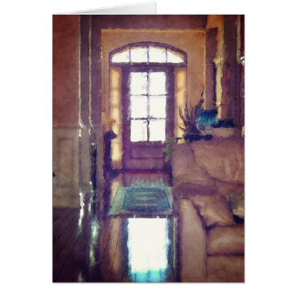 Reflections On Interior Design Card