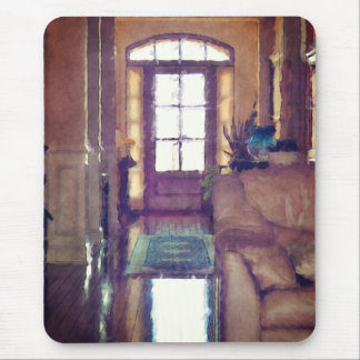 Reflections On Interior Design Mouse Pad