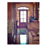 Reflections On Interior Design Postcard
