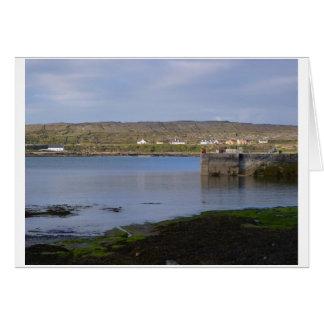 Reflections on Kilronan Harbour Card