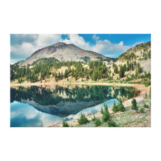 Reflections On Lake Helen 2 Canvas Print