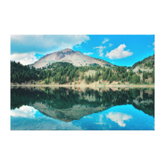 Reflections On Lake Helen Canvas Print
