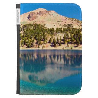 Reflections On Lake Helen, Lassen Volcanic Kindle 3 Covers