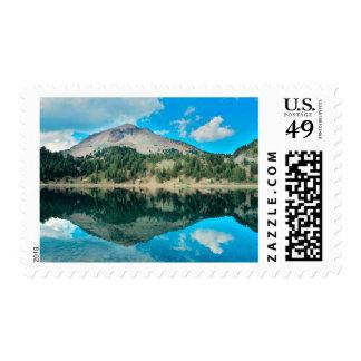 Reflections On Lake Helen Postage