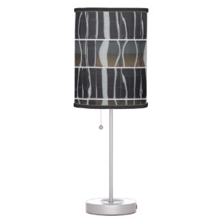 Reflections on Modern Buildings Table Lamp