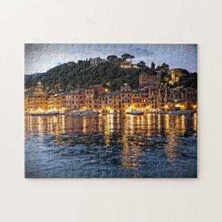 Reflections on Portofino, Italia Puzzle