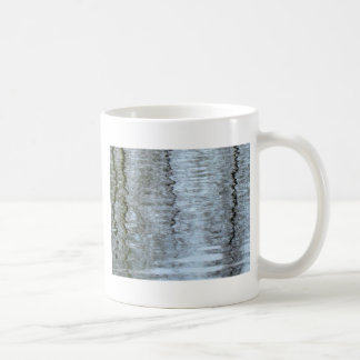 Reflections on the ice coffee mugs