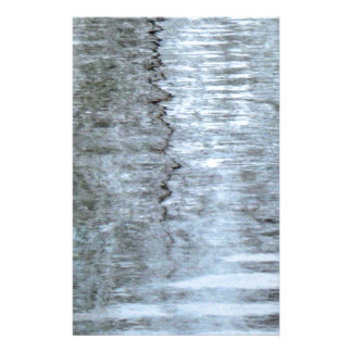 Reflections on the ice stationery
