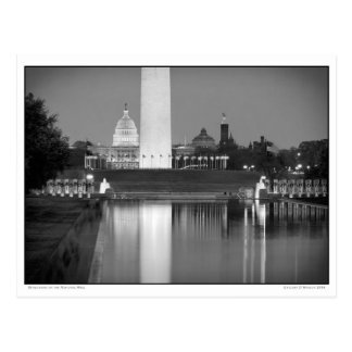 Reflections on the National Mall Postcard