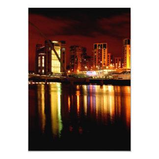 "Reflections on the Tyne Invitation 5"" X 7"" Invitation Card"