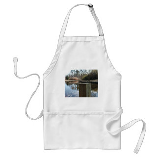 Reflections on the Water Adult Apron