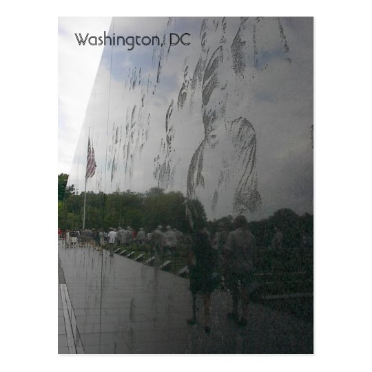 Reflections on War Postcard